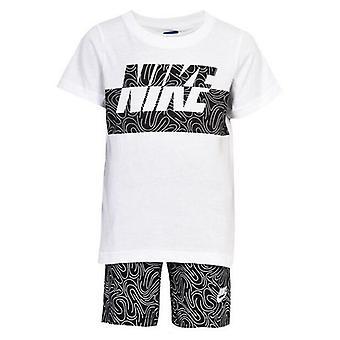 Children's Sports Outfit Nike 926-023 White Black/24 Mois