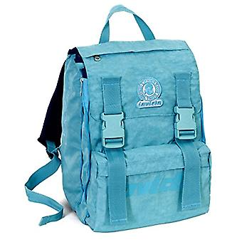ESTENSIBILE szkolny plecak-INVICTA-LOGO-niebieski 31Lt