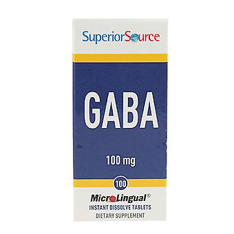 Superior Source Gaba Multivitamins, 100 mg, 100 Count