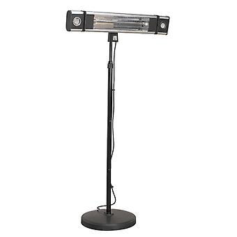 Sealey Ifsh1809Lr Carbon Fibre Infrared Patio Heater 1800W/230V & Floor Stand