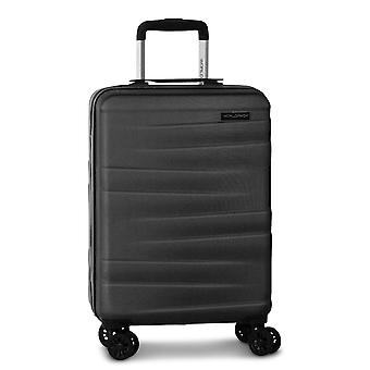 Fabrizio Worldpack Montreal Hand Luggage Trolley S, 4 Roues, 55 cm, 38 L, Noir