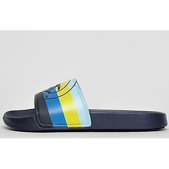 Penguin Original Poolside Slide Navy / Blue / Yellow