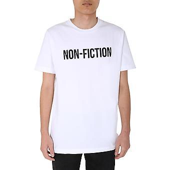 Off-white Omaa027e20jer0130110 Männer's weiße Baumwolle T-shirt