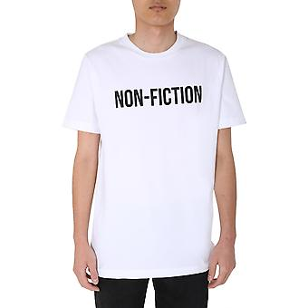 T-shirt Omaa027e20jer0130110 Homme-apos;s White Cotton