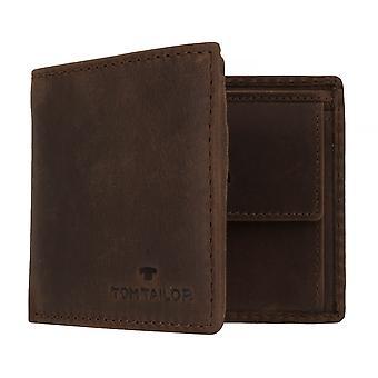 TOM TAILOR RON Herren Geldbeutel Portemonnaie Geldbörse mit RFID-Schutz Braun 7651