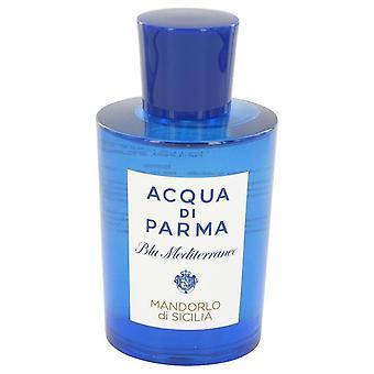 Blu Mediterraneo Mandorlo Di Sicilia Eau De Parfum Spray (Tester) przez Acqua Di Parma 5 uncji Eau De Parfum Spray