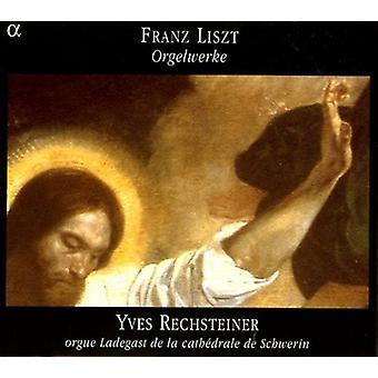 F. Liszt - Liszt: Orgelwerke [CD] USA import