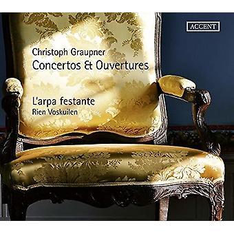 Graupner / L'Arpa Festante - Concertos & Ouvertures [CD] USA import