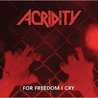 For Freedom I Cry [CD] USA import