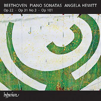L.V. Beethoven - Beethoven : Piano sonates opus 22, Opus 31 n ° 3, opus 101 [CD] USA import