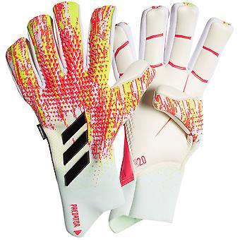adidas PREDATOR GL PRO FINGERSAVE NEGATIVE Torwart Handschuhe Größe
