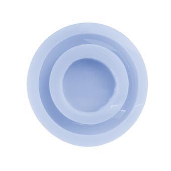Molde de pulseira de silicone para resina epóxi, média de 65mm