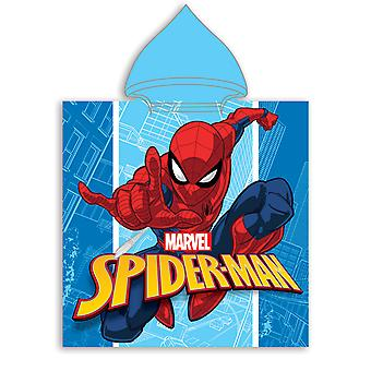 Spiderman kapucňou uterák Poncho