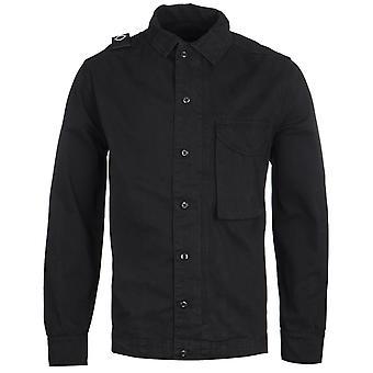 MA.Strum GD Black Overshirt