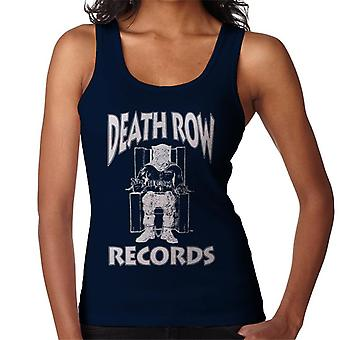 Death Row Records Chair Logo White Women's Vest