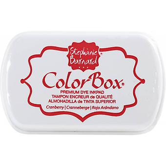 Clearsnap ColorBox Premium Dye Ink Full Size Cranberry