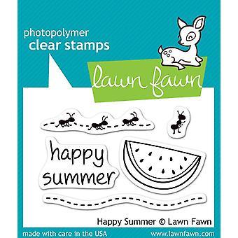 Lawn Fawn Clear Stamp - Feliz Verão