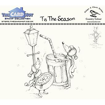 The Card Hut Tis The Season Clear Stamps