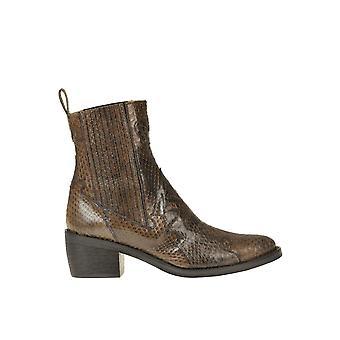 Malìparmi Ezgl194037 Femmes-apos;s Brown Leather Ankle Boots