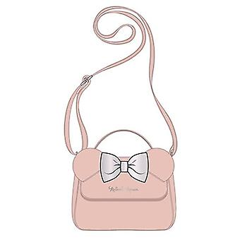 Minnie Mouse Ears Pink Crossbody Purse