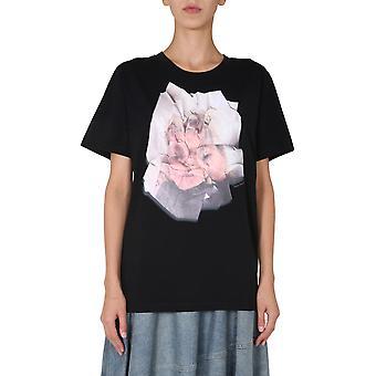 Mm6 Maison Margiela S32gc0578s23588900 Femmes-apos;s T-shirt en coton noir