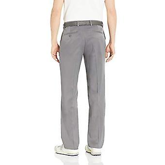 Essentials Men's Standard Classic-Fit Stretch Golf Pant, Gray, 30W x 32L