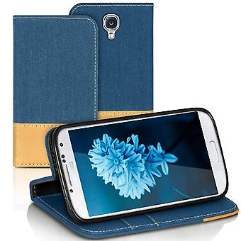 Samsung Galaxy S4 Mini Protection TPU Full Cover Mobile Protection Jeans Celular
