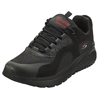 Skechers Boss Sparrow 2.0 Urban Sounds Womens Casual Trainers in Black Black