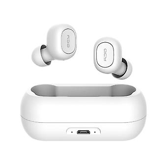 QCY T1C TWS Bluetooth V5.0 Headset Sports Wireless Earphones 3D Stereo Earbuds White