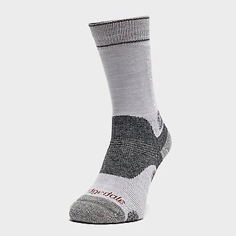 Bridgedale Women's Hike Midweight Merino Endurance Boot Socks Grey