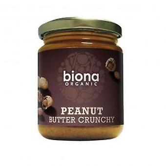 Biona - Org Crunchy Salt Peanut Butter 500g