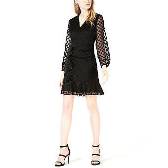 Palkki III | Polka-Dot röyhelöinen a-line mekko