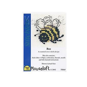 Bumble Bee Stitchlets Counted Cross Stitch Kit