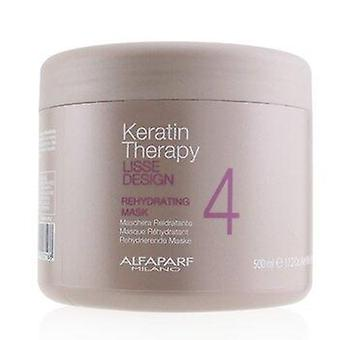 Lisse Design Keratin Therapy Rehydrating Mask (Salon Size) 500ml or 17.63oz
