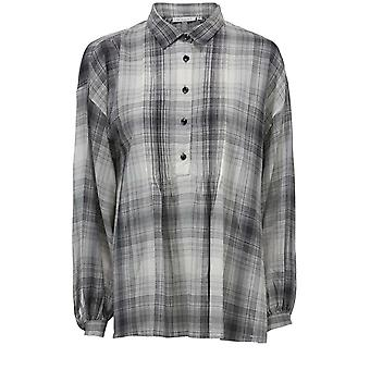 Masai Clothing Badisso Check Blouse