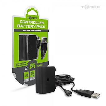 Controller Battery Pack and Charge Cable for Xbox One - Tomee