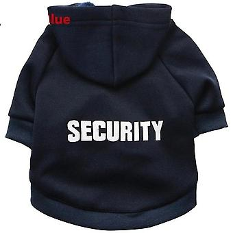 Security Pet Coats Jacket Hoodies For Animals Pet Warm Outfit & Clothing