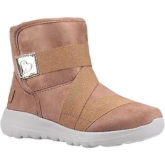 Skechers الفتيات الذهاب المشي الفرح أحذية الكاحل الإرادة القوية