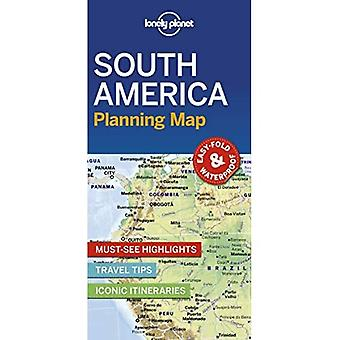 Lonely Planet South America� Planning Map (Map)