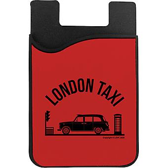 London Taxi Company TX4 At Traffic Lights Phone Card Holder