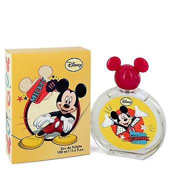 Mickey Mouse Eau De Toilette Spray (Packaging may vary) By Disney 3.4 oz Eau De Toilette Spray