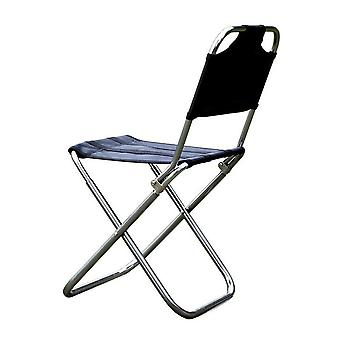 Outdoor Folding Chair, Fishing Camping Seat, Bbq Stool Portable Picnic Travel