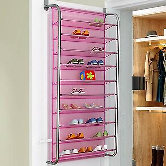 Multilayer Wall-mounted Shoe Rack, Hallway Space Saving, Organizer Over The