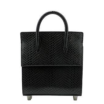 Christian Louboutin 1215048cm53 Women's Black Leather Handbag