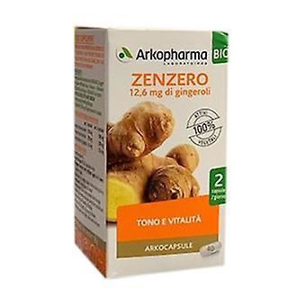 ORGANIC Ginger 40 capsules