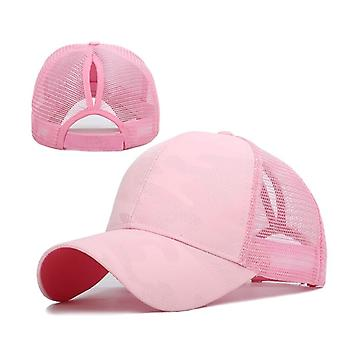 Women Fashion Hip Hop Outdoor Baseball Summer Casual Mesh Cap.