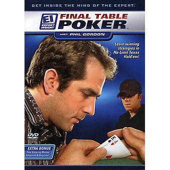 Final Table Poker with Phil Gordon [DVD] USA import