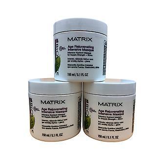 Matrix Biolage Age Rejuvenating Intense Masque 5.1 OZ Set of 3