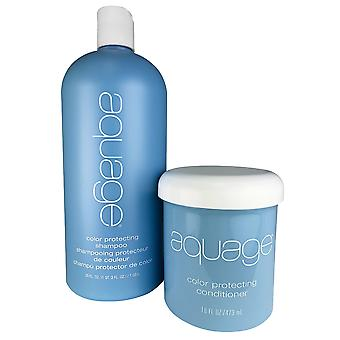 Aquage color protecting duo 35oz-16oz
