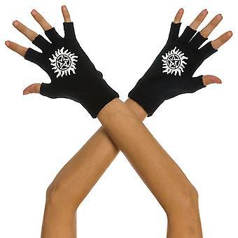 Símbolo sobrenatural Guantes sin dedos